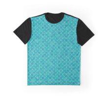 Aquaria Mermaid Fish Scales Graphic T-Shirt
