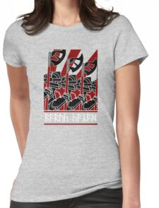 Dwarven Constructivism! Womens Fitted T-Shirt
