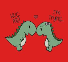 Dino Love! (Hug Me!) Kids Clothes