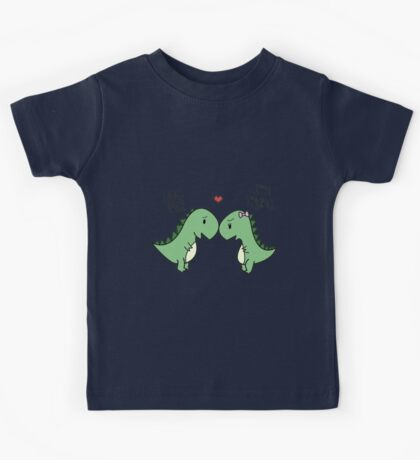 Dino Love! (Hug Me!) Kids Tee