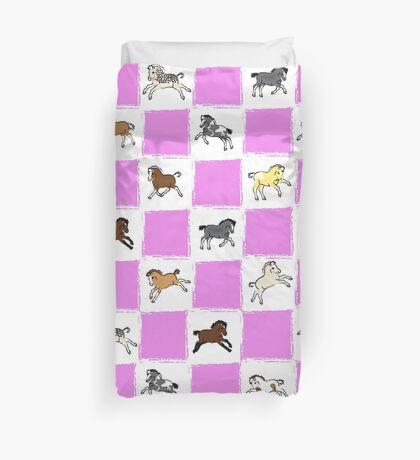 Pony Foals 2 Duvet Cover