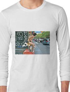 ESCAPE FROM NEW YORK TARZAN Long Sleeve T-Shirt