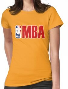 mba parody Womens Fitted T-Shirt