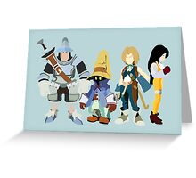 Final Fantasy IX Greeting Card