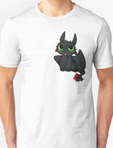 Toothless - Night fury quote Unisex T-Shirt