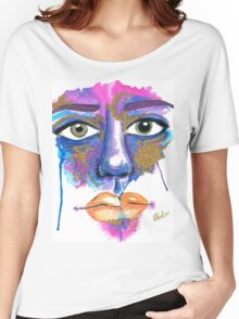 Dilated Watercolour Women's Relaxed Fit T-Shirt