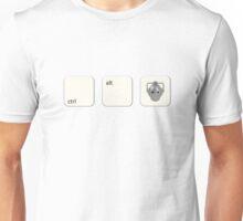 Ctrl Alt Del Cyberman Parody Doctor Who Unisex T-Shirt