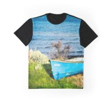 Lone Row Boat Graphic T-Shirt