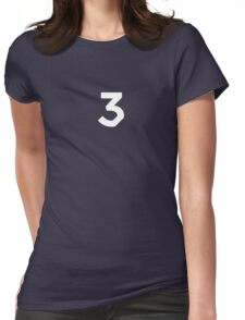 Chance The Rapper - Chance 3 Coloring Book Womens Fitted T-Shirt
