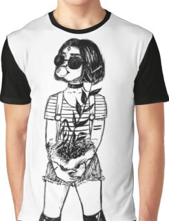 black raven Graphic T-Shirt
