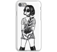 black raven iPhone Case/Skin