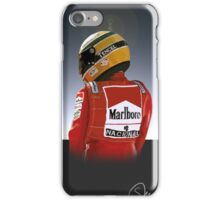 Ayrton Senna Painting Illustration iPhone Case/Skin