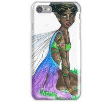 gold faerie iPhone Case/Skin