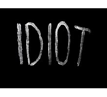 Michael Clifford Idiot Photographic Print
