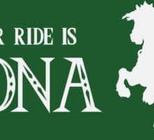 My Other Ride is Epona Sticker