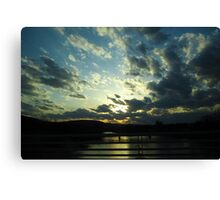 Sunset Divide Canvas Print