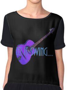 Gypsy Jazz Guitar 1 Chiffon Top