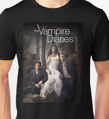 The vampire diaries Cover 01 Unisex T-Shirt