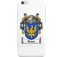 Dunne iPhone Case/Skin