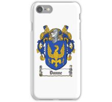 Dunne iPhone Case/Skin