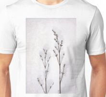 Fluffy winter blossom, snow for Christmas  Unisex T-Shirt