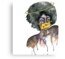 Ring Around the Afro Canvas Print