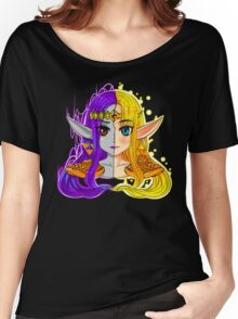 A LINK BETWEEN PRINCESSES Women's Relaxed Fit T-Shirt