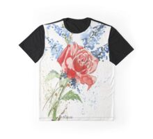 A Singing Rose Graphic T-Shirt