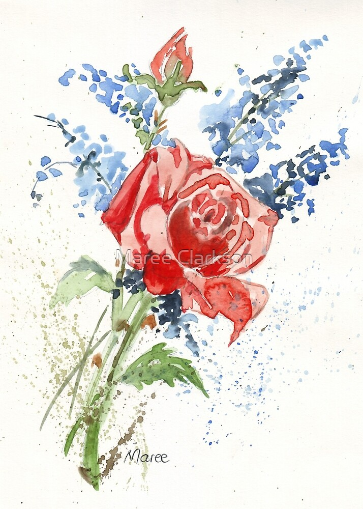 A Singing Rose by Maree Clarkson