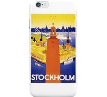 Stockholm, Sweden iPhone Case/Skin