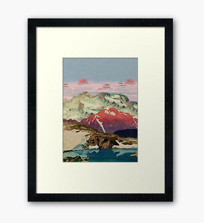 Winter in Keiisino Framed Print