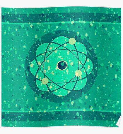 Atomic Spearmint Poster