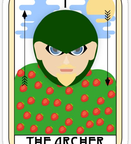 The Archer (Tarot Card I) Sticker