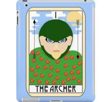 The Archer (Tarot Card I) iPad Case/Skin