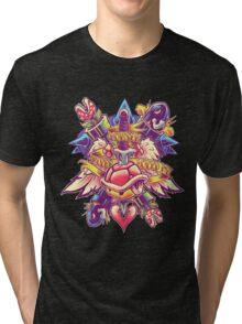 BOWSER NEVER LOVED ME Tri-blend T-Shirt