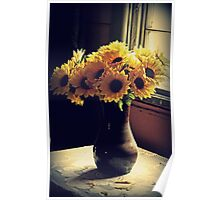 Vase And Flowers Poster