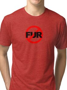 No Fur Tri-blend T-Shirt