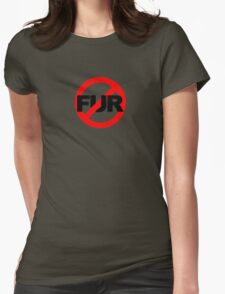 No Fur Womens Fitted T-Shirt