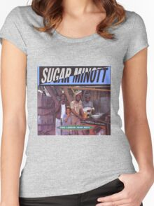 Sugar Minott Time Longer Than Rope Women's Fitted Scoop T-Shirt