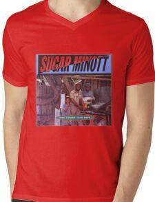 Sugar Minott Time Longer Than Rope Mens V-Neck T-Shirt