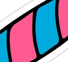 Pink and Blue lolly Sticker