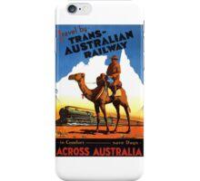 Trans Australian Railway iPhone Case/Skin