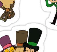 Top Hat Shenanigans Sticker