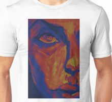Explosive Colorful Portrait Painting Unisex T-Shirt