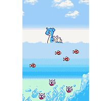 Pokemon Gold And Silver Scenic Ocean Photographic Print