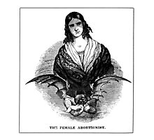 The Female Abortionist Photographic Print