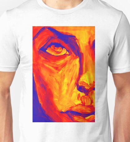 Explosive Colorful Portrait Painting Unisex T-Shirt