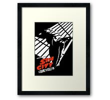 A Dame To Kill For Framed Print