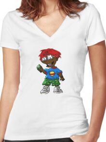 Lil Yachty Thug Rats OG / shirt sticker phone / Women's Fitted V-Neck T-Shirt