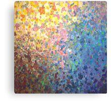 Pixel Petals Canvas Print